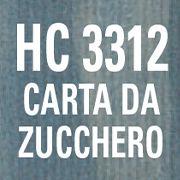 HC 3312 - CARTA DA ZUCCHERO