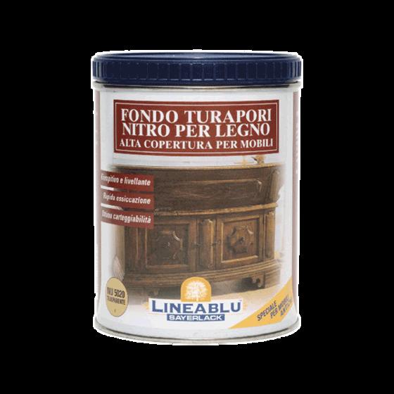 Immagine di NU5020 - Fondo turapori nitro per legno alta copertura per mobili