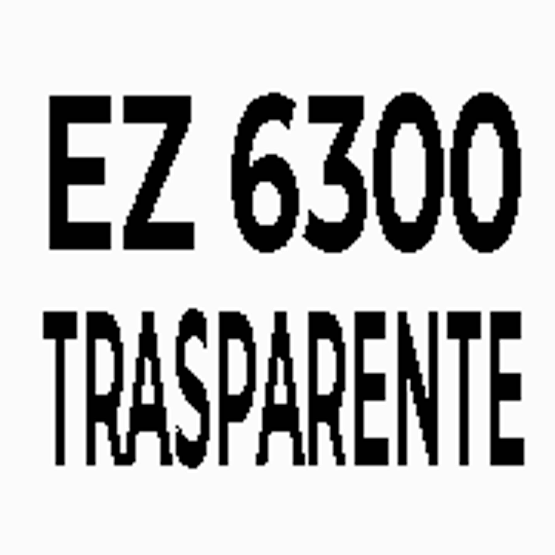 EZ 6300 - INCOLORE
